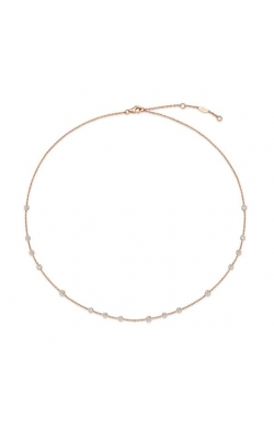 MEMOIRE FASHION CASCADE NECKLACE CASCADE 16 STONE NECKLACE 18K YELLOW GOLD product image