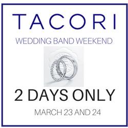 TACORI WEDDING BAND WEEKEND