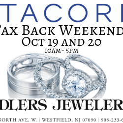 Tacori Tax Back Weekend at Adlers October 19 and 20
