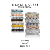 Simon G and Henri Daussi Trunk Show- Saturday March 9