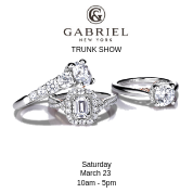 Gabriel and Co Trunk Show- Saturday March 23