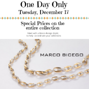 Marco Bicego- One Day Show