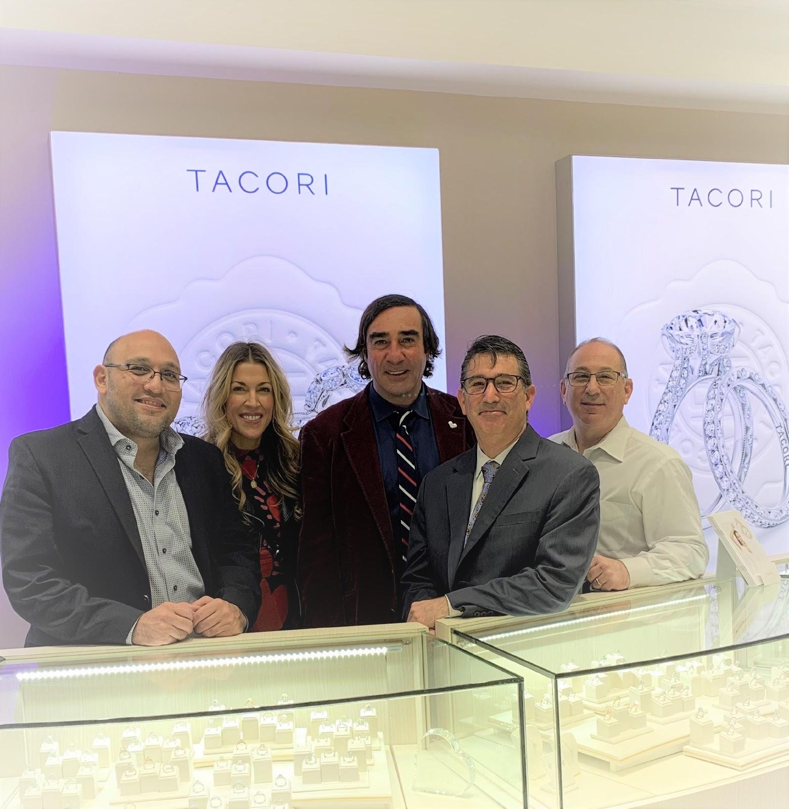 Tacori Founder Paul Tacorian Visits Adlers Jewelers