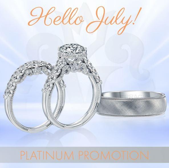 Adlers Jewelers Platinum Ring Savings Events