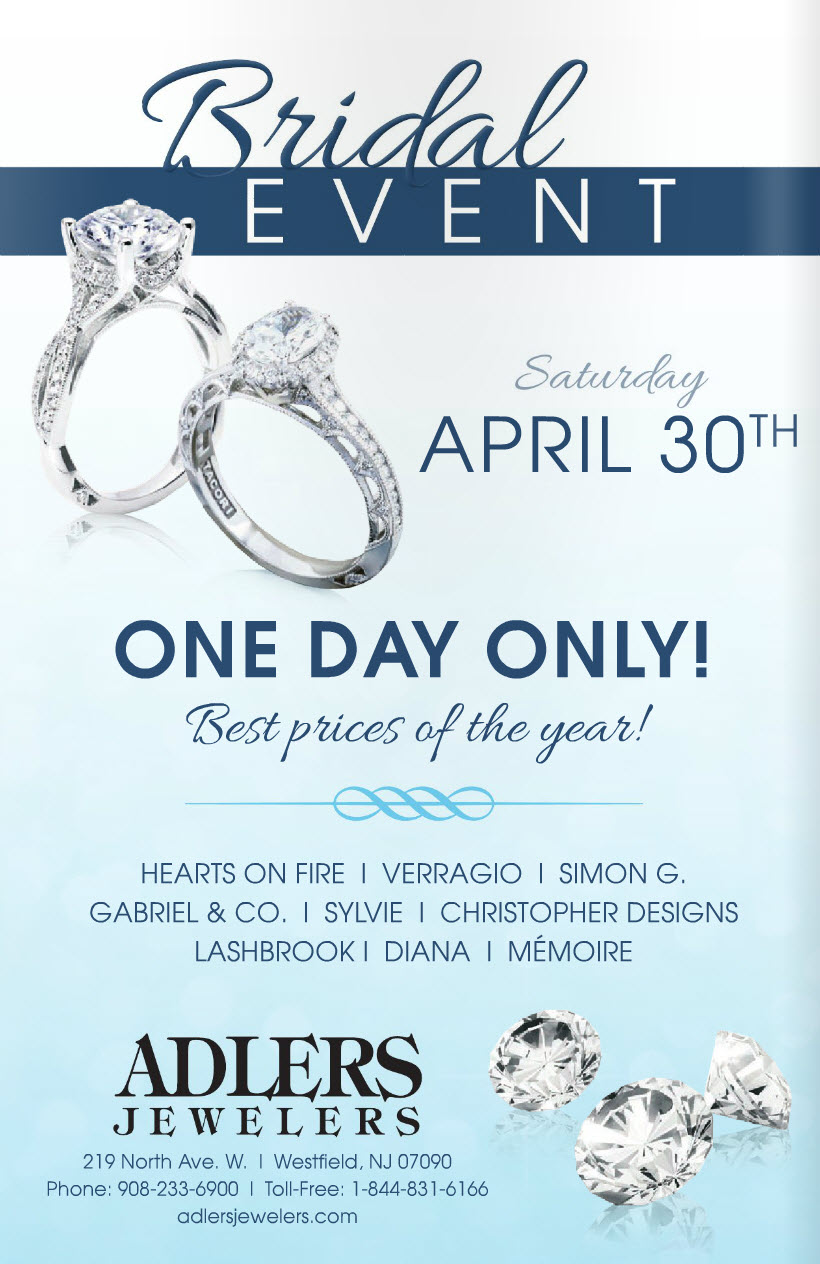 One Day Only Bridal Event - Saturday April 30th 2016